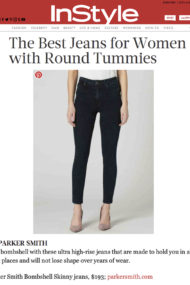 Instyle.com Best Jeans for Round Tummies